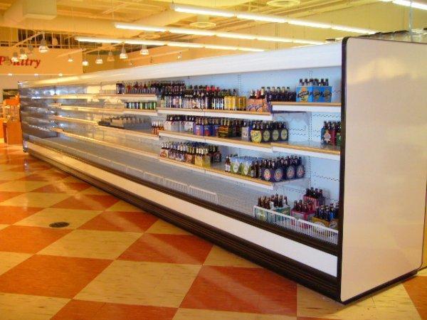 450A: Kysor//Warren QD6L3-12UN Multi Deck Dairy Case