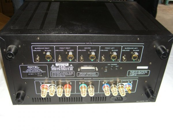 7A: Rotel RMB-1095 Five Channel Power Amplifier - 4
