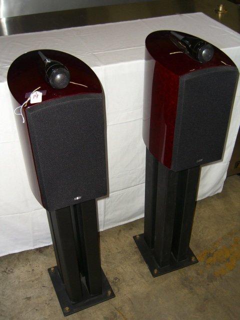 19: (2) Bowers & Wilkins Signature 805 Speakers
