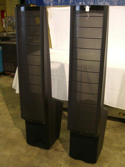 20: (2) Martin Logan Ascent Floor Model Speakers - 3