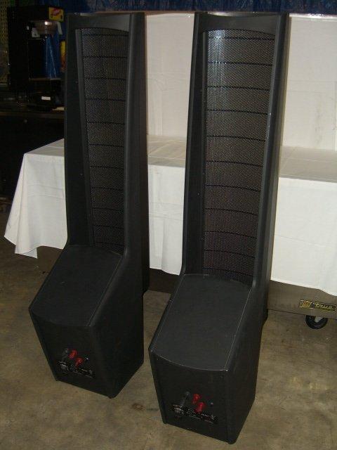 20: (2) Martin Logan Ascent Floor Model Speakers - 6