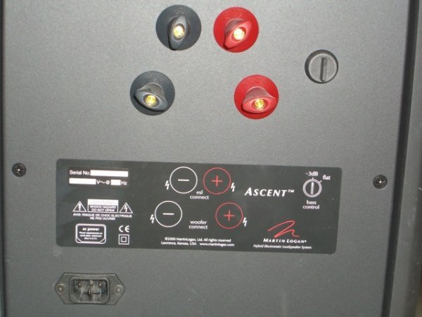20: (2) Martin Logan Ascent Floor Model Speakers - 7