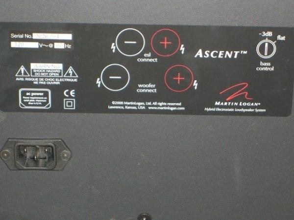 20: (2) Martin Logan Ascent Floor Model Speakers - 8