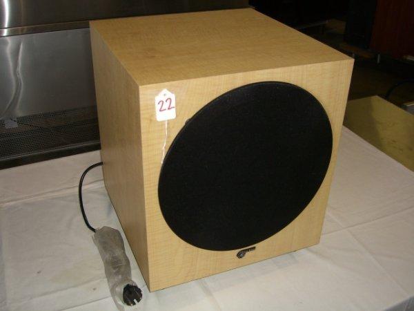 22: Audio Pro B7 Sub Focus Subwoofer Amplifier