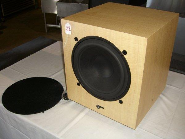 22: Audio Pro B7 Sub Focus Subwoofer Amplifier - 2