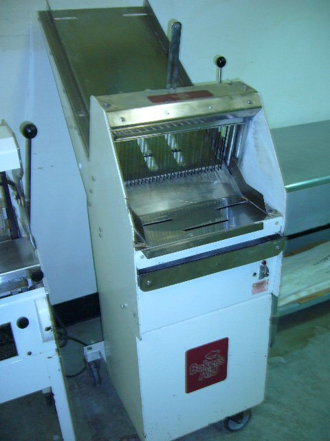 510: Bakers Aid GMB Floor Model Mobile Bread Slicer