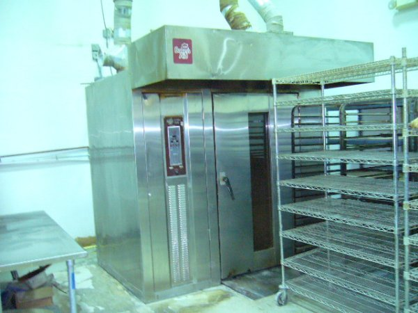 513: Bakers Aid Ultra Two Rack Oven BAUT-2G-OP