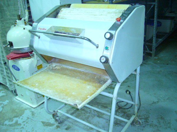 519: Pavailler FAC Floor Model Dough Sheeter