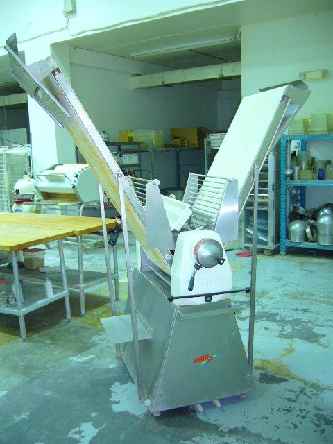 521: Rollfix D-97340 Floor Model Dough Sheeter - Caster