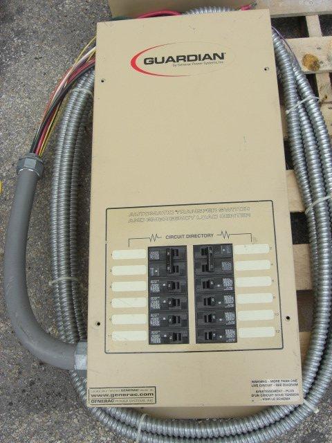 6: Guardian Automatic Transfer Switch #OE7969
