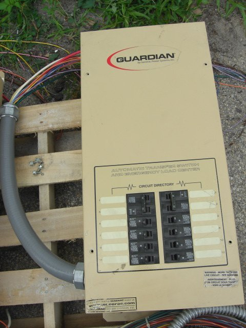 7: Guardian Automatic Transfer Switch #OE7969
