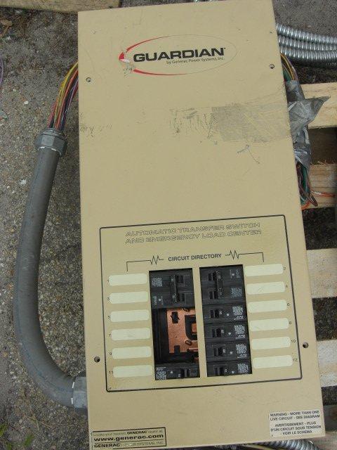 9: Guardian Automatic Transfer Switch #OE7969