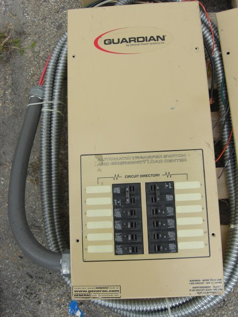 10: Guardian Automatic Transfer Switch #OE7969