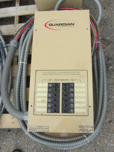 12: Guardian Automatic Transfer Switch #OE7969