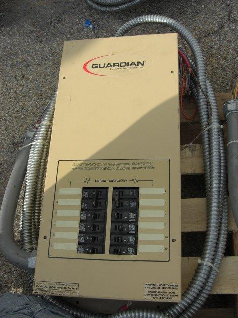 13: Guardian Automatic Transfer Switch #OE7969