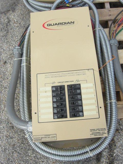 14: Guardian Automatic Transfer Switch #OE7969