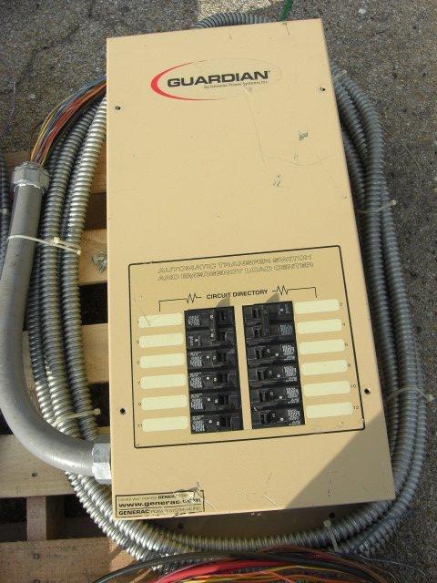 15: Guardian Automatic Transfer Switch #OE7969