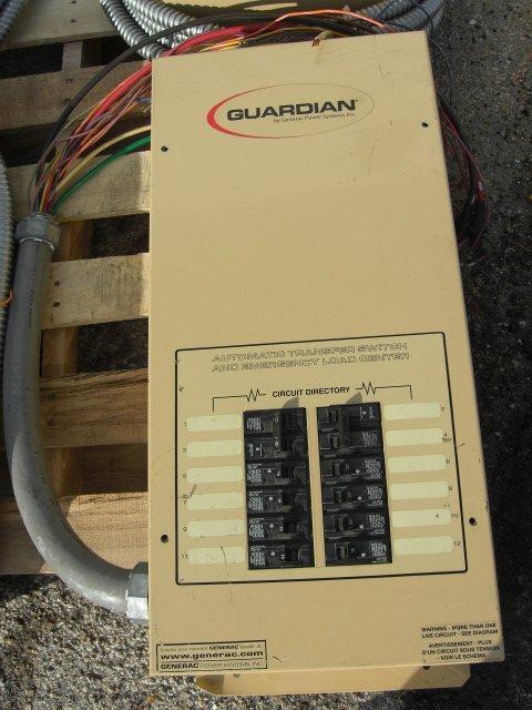 16: Guardian Automatic Transfer Switch #OE7969