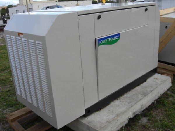 21: Guardian Quiet Source 27 Kw Generator Model # 00491 - 2