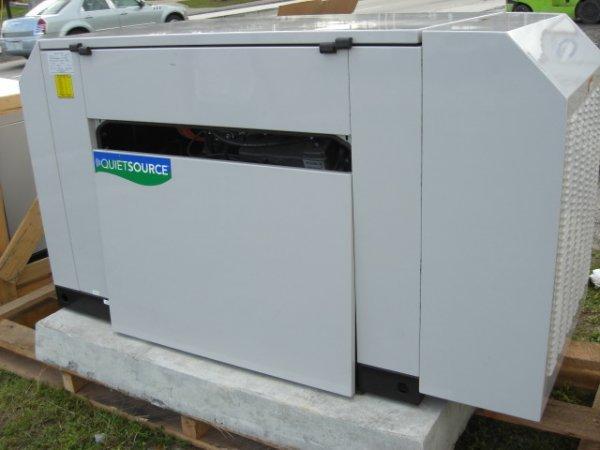 21: Guardian Quiet Source 27 Kw Generator Model # 00491 - 3
