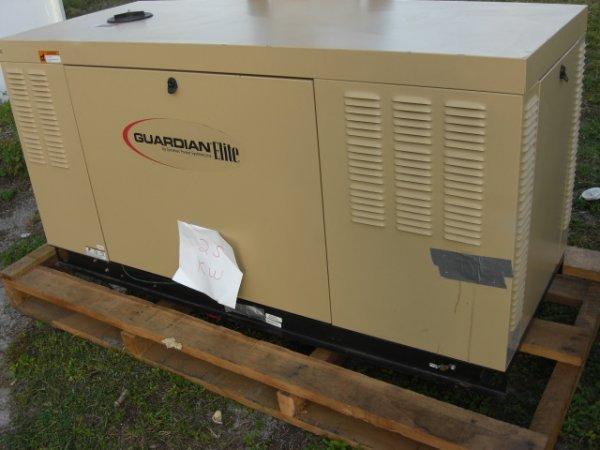 22: Guardian Elite 25 Kw Generator Model # 0052120
