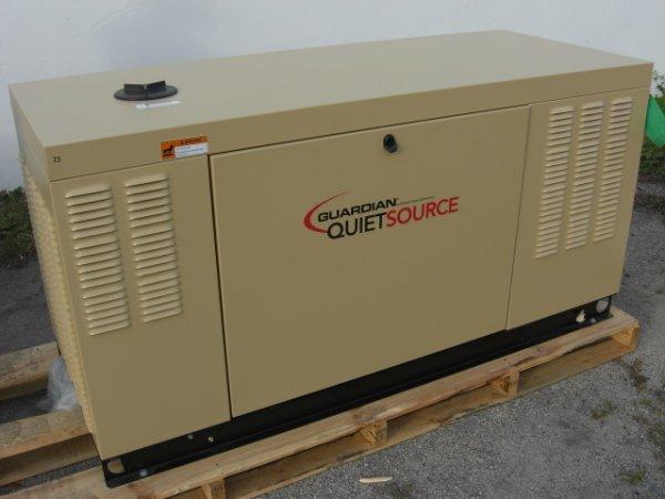 23: Guardian Quiet Source 25 Kw Generator Model # 00532