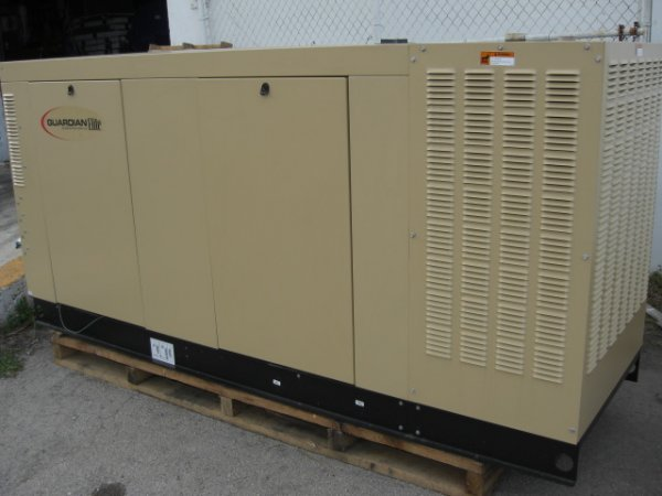 25: Guardian Elite 80 Kw Generator Model # QT08046ANAN