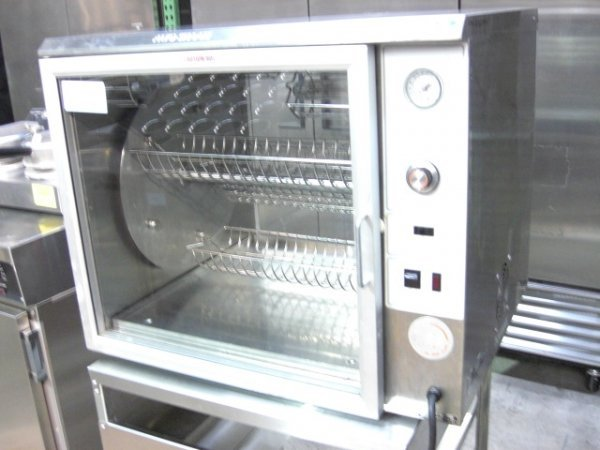 21: Alto Shaam GDR-80 Chicken Rotisserie Merchandiser