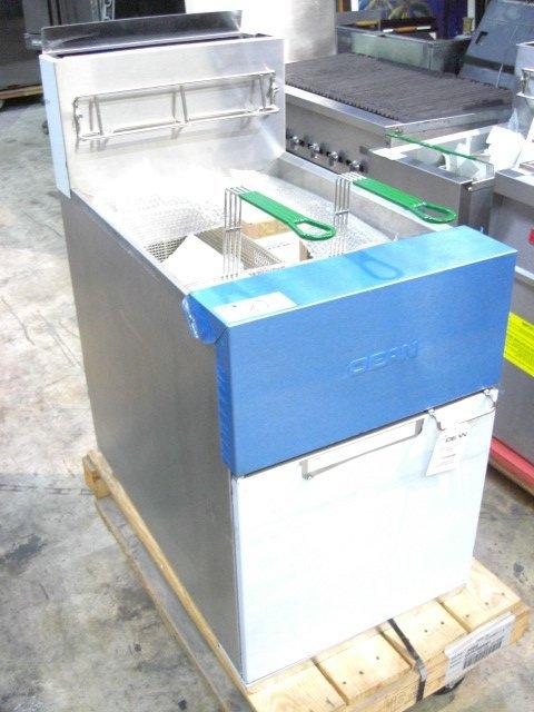 27: New Dean SR162GN Fryer Nat Gas S#0603ME0019 - 2