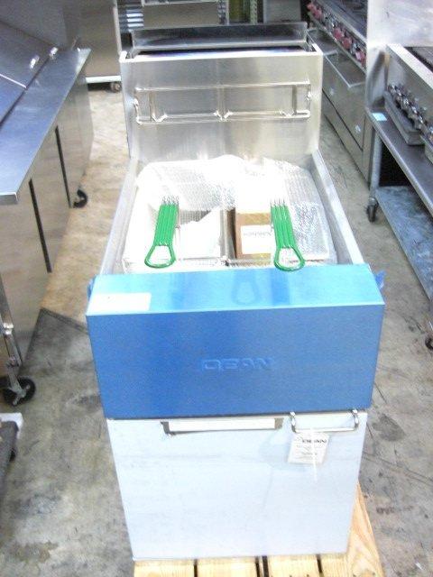 27: New Dean SR162GN Fryer Nat Gas S#0603ME0019 - 3