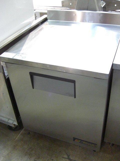 "50: True TWT-27F 1dr. 27"" S/S Work Top Freezer"