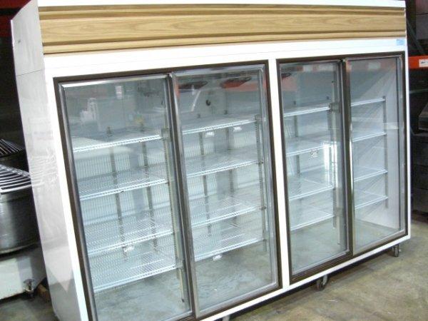 53: Howard WC-90-W 4dr. Slide Glass Display Cooler