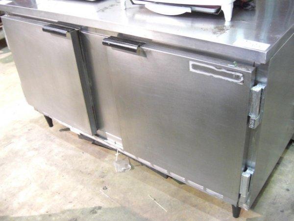 """55: Beverage Air WTR60 2dr. 60"""" S/S Work Top Cooler"""