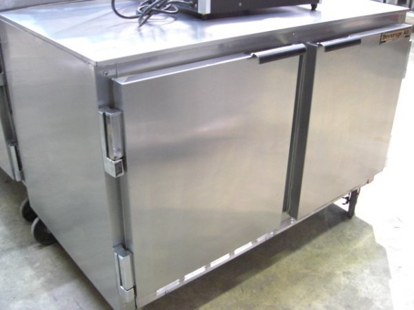 """59: Beverage Air UCR48A 2dr. 48"""" S/S U/C Cooler"""