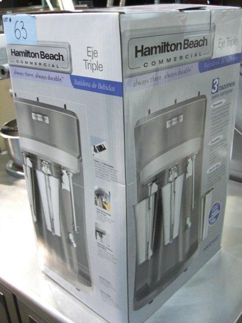63: New Hamilton Beach HMD400 Triple Commercial Blender