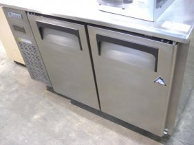 "Everest ETR2 2dr. 47"" S/S UnderCounter Cooler"