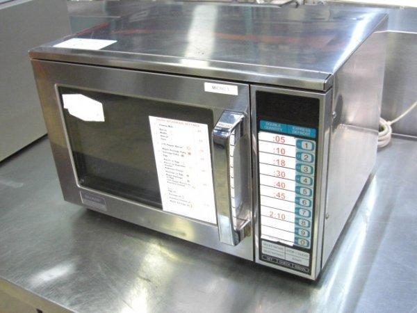 67: Sharp R23-GT 1600Watt Commercial S/S Microwave Oven