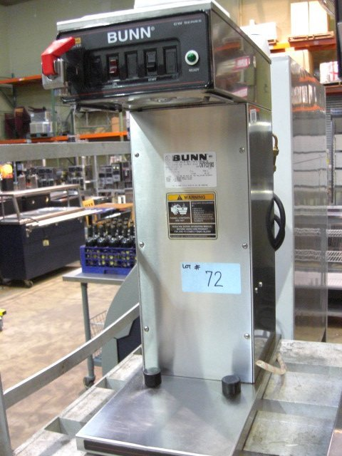 72: Bunn CWTF35-APS Coffee Machine w/ Hot Water Tap