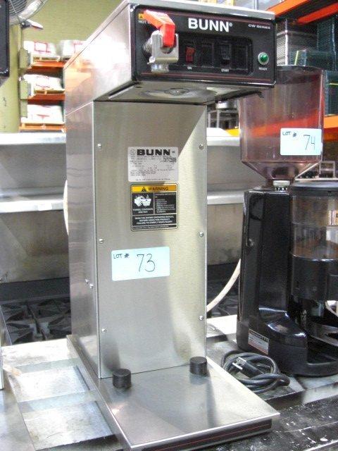 73: Bunn CWTF35-APS Coffee Machine w/ Hot Water Tap