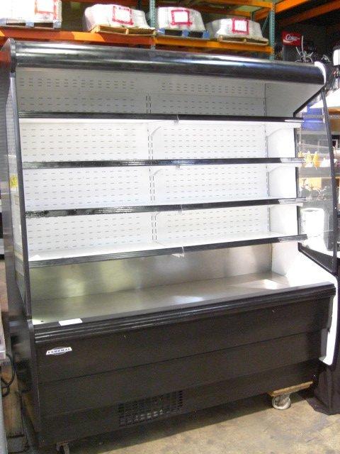 92: Federal RSSM678SC Upright Open Display Cooler