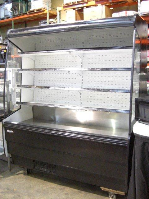 92: Federal RSSM678SC Upright Open Display Cooler  - 2