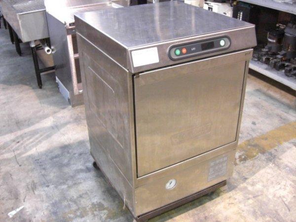 111: Hobart LXiH S/S U/C Dishwasher w/Built-In Heater