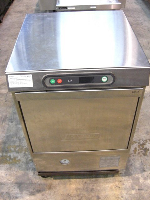 111: Hobart LXiH S/S U/C Dishwasher w/Built-In Heater - 3