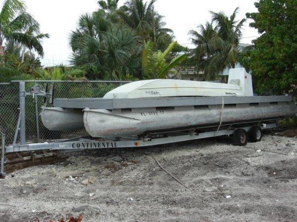 1A: 1994 OMC 14' Aluminum Jon Boat