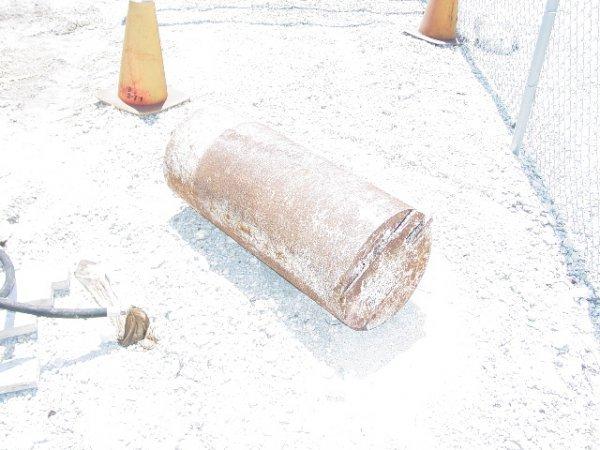 "2A: 2005 Excavator Auger 14"" Cleanout Bucket"