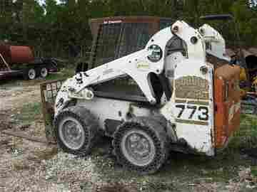 27A: 2002 Bobcat 773 Turbo w/Bucket & A/C