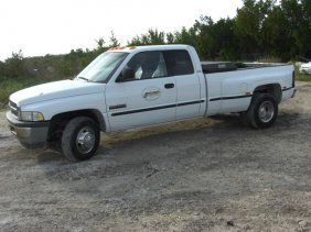 1999 Dodge Dually 3500 Diesel Pick Up Truck