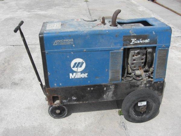 58A: Miller Bobcat 225 Generator Welder