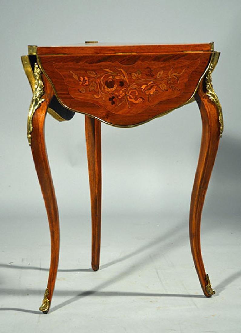 French 19th/20th C. Handkerchief Table