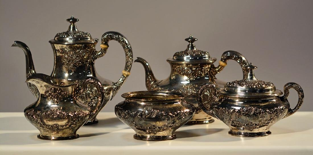 "Gorham ""Buttercup"" Coffee & Tea Service"